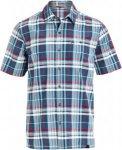 Schöffel SHIRT BISCHOFSHOFEN UV Männer Gr. S - Outdoor Hemd - blau|rot|weiß