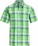 Schöffel Shirt Bischofshofen UV Männer Gr. S - Outdoor Hemd - grün|blau