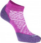 Smartwool PhD Run Light Elite Low Cut Frauen Gr. L - Laufsocken - pink-rosa|lila