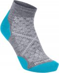 Smartwool PHD RUN LIGHT ELITE LOW CUT Frauen Gr. M - Laufsocken - grau|blau