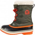 Sorel Yoot Pac Nylon Kinder Gr. 34 - Winterstiefel - oliv-dunkelgrün|orange