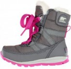 Sorel Youth Whitney Kinder Gr. 34 - Winterstiefel - grau|pink-rosa