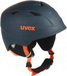 Uvex AIRWING 2 PRO Kinder - Skihelm - schwarz|orange
