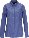 Vaude Altiplano LS Shirt Frauen Gr. 36 - Outdoor Bluse - blau