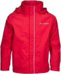 Vaude Escape Light Jacket II Kinder Gr. 110/116 - Regenjacke - rot