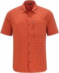 Vaude SEILAND SHIRT II Männer Gr.S - Outdoor Hemd - rot|orange
