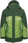 Vaude Suricate 3in1 Jacket III AOP Kinder Gr. 104 - Doppeljacke - grün|oliv-dun