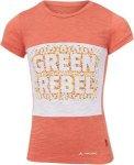 Vaude Tammar Shirt Kinder Gr. 104 - T-Shirt - rot
