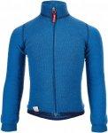 Woolpower Full Zip Jacket 400 Kinder Gr. 128 - Wolljacke - blau