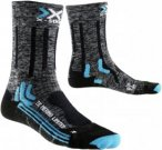 X-Socks Trekking Merino Limited Frauen Gr. 41-42 - Wandersocken - grau|schwarz|b
