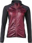 Yeti Barra Full Windshield Jacket Frauen Gr. S - Softshelljacke - rotbraun|schwa