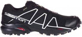 Salomon Speedcross 4 GTX Männer Gr. 12 - Trailrunningschuhe - schwarz|grau