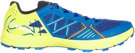 Scarpa Spin Männer Gr. 45 - Trailrunningschuhe - blau|gelb