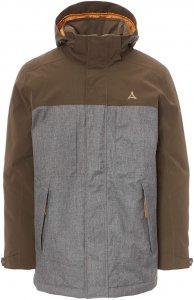 Schöffel Insulated Jacket Lipezk Männer Gr. 46 - Winterjacke - braun|grau