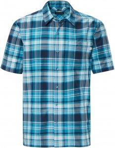 Schöffel Shirt Bischofshofen1 UV Männer Gr. L - Outdoor Hemd - blau|petrol-türkis