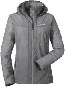 Schöffel Windbreaker Jacket L Frauen Gr. 34 - Softshelljacke - grau