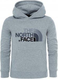 The North Face Drew Peak Plv Hd Kinder Gr. 128 - Kapuzenpullover - grau