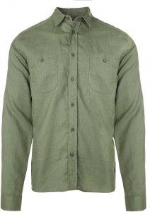 Tierra Kaiparo Hemp L/S Shirt Männer Gr. XXL - Outdoor Hemd - oliv-dunkelgrün