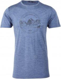 Tierra Premium Logo Tee Männer Gr. L - T-Shirt - blau