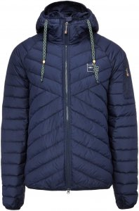 VARG Algon Jacket with Zip Männer Gr. L - Daunenjacke - blau