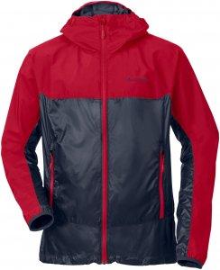 Vaude Croz Windshell II Jacket Männer Gr. S - Softshelljacke - rot|blau