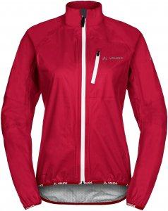 Vaude Drop Jacket III Frauen - Regenjacke - rot