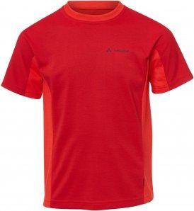 Vaude Fulmar Shirt Kinder Gr. 122/128 - Funktionsshirt - rot
