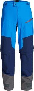 Vaude Morzine Zo Pants II Männer - Softshellhose - blau