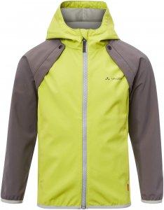 Vaude Muntjac 2in1 Jacket Kinder Gr. 134/140 - Softshelljacke - gelb|grün|grau