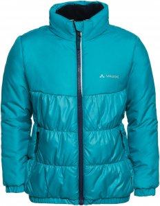 Vaude Racoon Insulation Jacket Kinder Gr. 104 - Winterjacke - blau|petrol-türkis