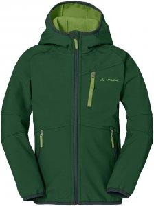 Vaude Rondane Jacket II Kinder Gr. 146/152 - Softshelljacke - grün