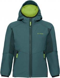 Vaude Rondane Jacket III Kinder Gr. 134/140 - Softshelljacke - grün