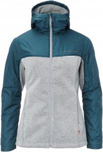 Vaude Tirano Padded Jacket II Frauen - Fahrradjacke - grau blau