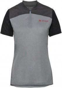 Vaude Women'S Tremalzo Shirt Frauen - Fahrradtrikot - grau|schwarz
