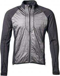 Yeti Mallow Full Windshield Jacket Männer Gr. L - Softshelljacke - schwarz|grau