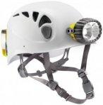 Petzl Speläohelm Spelios + Hybrid-Stirnlampe Kletterhelmfarbe - Weiß, Kletterh