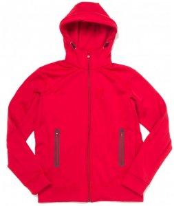 66 North - Fannar Hooded Sweater - Fleecejacke Gr XL rot