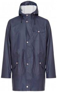 66 North - Laugavegur Rain Jacket - Mantel Gr XXL blau/schwarz