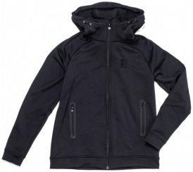 66 North - Women's Fannar Hooded Sweater - Fleecejacke Gr L schwarz