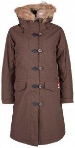 66 North - Women's Snaefell Parka Real Fur - Mantel Gr XL braun