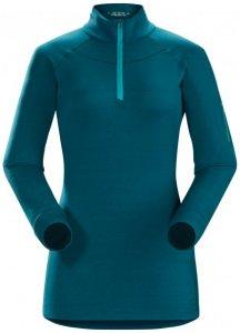 Arc'teryx - Women's Satoro AR Zip Neck L/S Gr XS blau