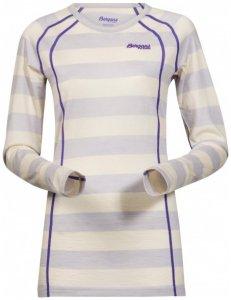 Bergans - Fjellrapp Lady Shirt Gr S grau/weiß
