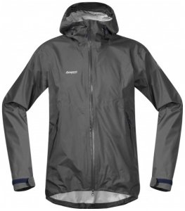 Bergans - Letto Jacket - Hardshelljacke Gr XXL grau/schwarz