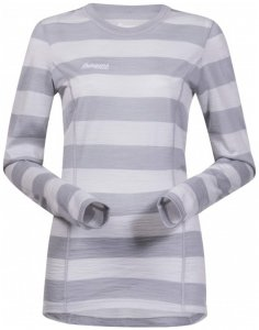 Bergans - Soleie Lady Shirt - Merinounterwäsche Gr S grau