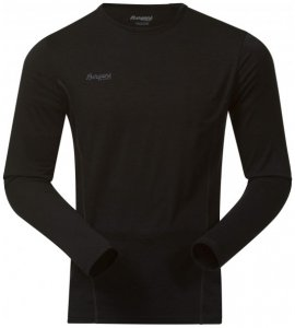 Bergans - Soleie Shirt - Merinounterwäsche Gr S schwarz