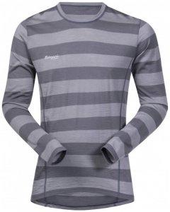 Bergans - Soleie Shirt - Merinounterwäsche Gr L grau