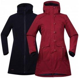 Bergans - Women's Bjerke 3In1 Coat - Mantel Gr M rot/schwarz