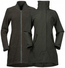 Bergans - Women's Oslo 3In1 Coat - Mantel Gr XS schwarz