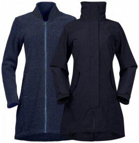 Bergans - Women's Oslo 3In1 Coat - Mantel Gr S schwarz