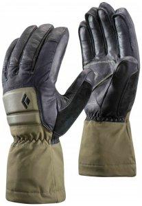 Black Diamond - Spark Powder - Handschuhe Gr L;S;XL schwarz/grau;schwarz/grau/oliv